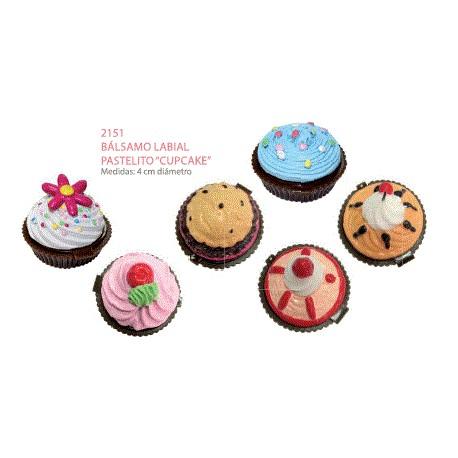 Bálsamo labial cupcake mod. surtidos