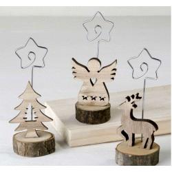 Portafoto / notas madera