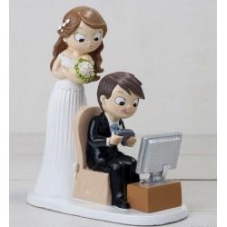 Figura bodas ordenador