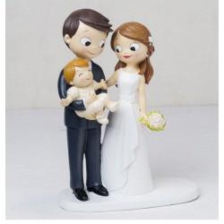 Figura boda bebé