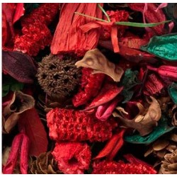 Potpourri flor seca aroma Frutos rojos