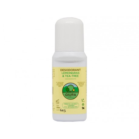 Desodorante lemongrass & tea tree